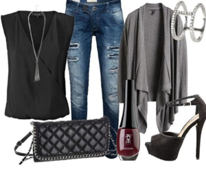 cool, fashion, and high heels image