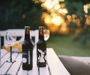 beer, wine, and drink image