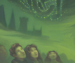 cover, harry potter, and ron image