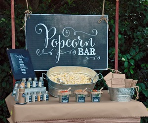 popcorn, food, and ideas image