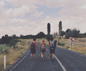 love, travel, and friends image