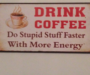 coffee, drink, and energy image