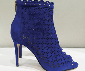blue, bootie, and cool image