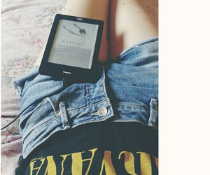 book, chillin, and fashion image