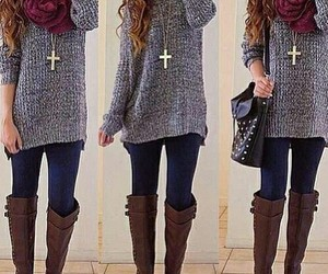 beauty, moda, and outfits image
