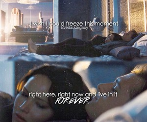 catching fire, quote, and the hunger games image