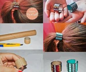 diy, hair, and cool image
