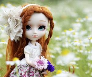 beautiful, garden, and long hair image
