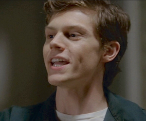 sexy and evan peters image
