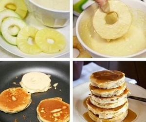 pancakes, diy, and food image