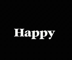 black, happy, and joie image