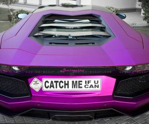 Lamborghini and purple image