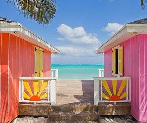 bahamas, ocean, and beach image