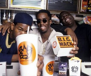 puff diddy, bad boy records, and notourious big image