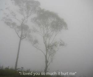 love, hurt, and sadness image