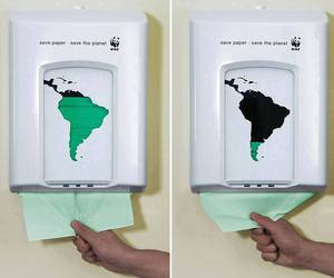 Paper, green, and save the planet image