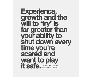 experience, growth, and life image