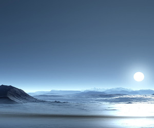 antartica, moon, and black image