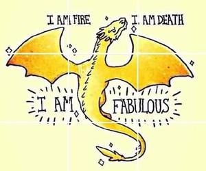 dragon, fabulous, and gold image