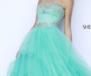 15, blue, and dress image