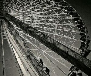 four, divergent, and ferris wheel image