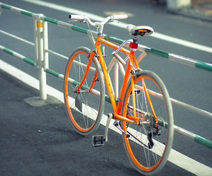 bike and orange image
