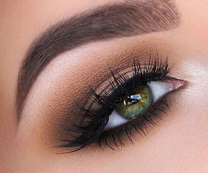 eyes, fashion, and eyebrows image