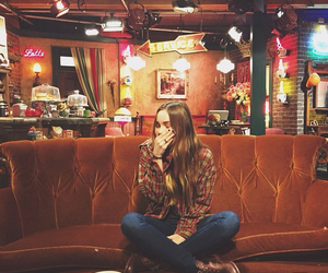 indie, central perk, and liana liberato image