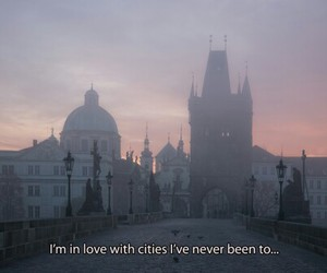 city, quotes, and travel image