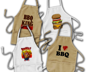 barbecue, barbeque, and aprons image