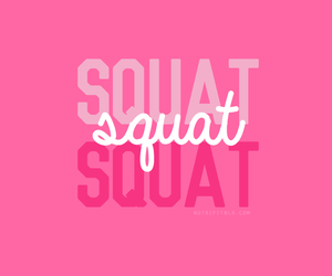 squats, fitness, and motivation image