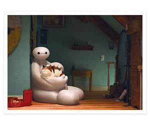 disney, kitty, and baymax image