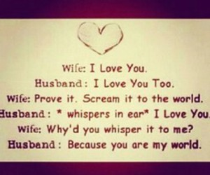 love, husband, and wife image