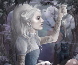 alice in wonderland and wonderland image