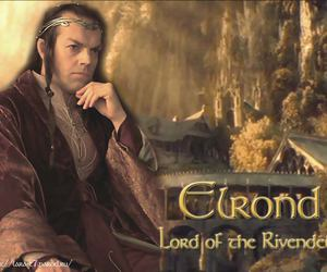 the lord of the rings, elrond, and el señor de los anillos image