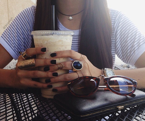 girl, style, and nails image
