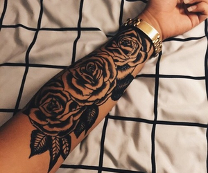 ink, tatted, and inked image