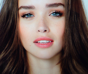 beautiful, make up, and model image