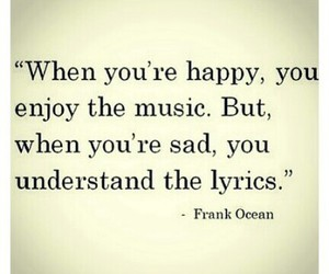 music, sad, and happy image