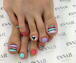 colorful, nice, and nails image