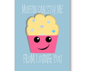 cards, cupcake, and funny image