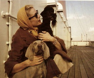 grace kelly and vintage image