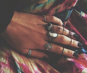 hippie and rings image