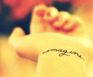 imagine, tatuaje, and tattoo image