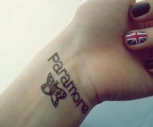 paramore, tattoo, and england image