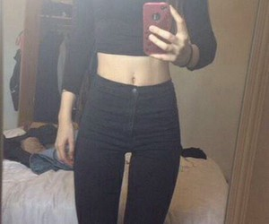 abs, outfit, and fitspo image