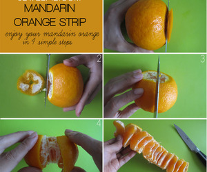 orange, mandarin, and diy image