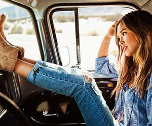 girl, Hot, and jeans image