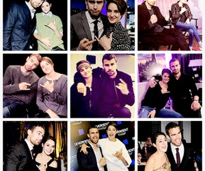 Shailene Woodley and theo james image
