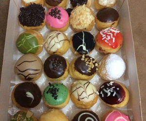 donuts, indonesia, and yummy image